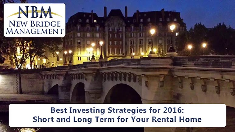 Best Real Estate Investment Strategies for 2016 | Modesto Property Management Tips
